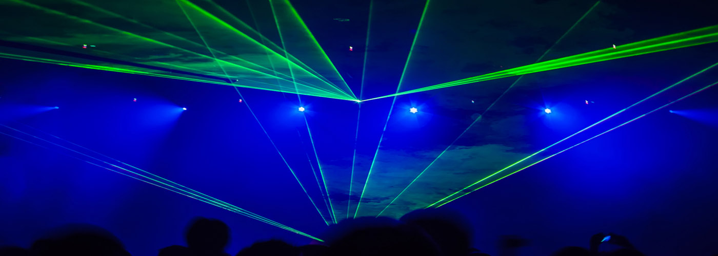 Lightshow, Lasers & Video Projections